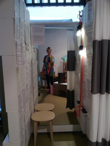 summer menu fitting room
